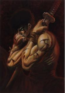 三浦建太郎さん幻の初期作『王狼』リバイバル連載開始 初回は80ページ掲載