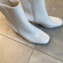 【GUレポ】ふかふかの履き心地がクセになりそう。「スクエアヒールブーツ」は推しポイントが盛りだくさん