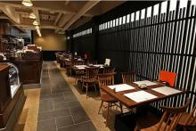 京都・よーじやカフェの「顔パフェ」3種がリニューアル。別添えのソースで味の変化も楽しんで