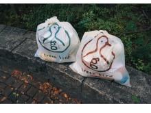 使う用具も環境に配慮!全国各地のごみ拾い活動で、お米から作ったごみ袋を使用開始