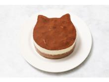 ねこねこチーズケーキより、ビターで大人な味わいの「ねこねこティラミス」が販売中
