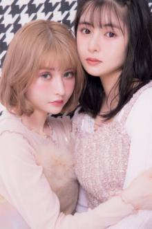 """戦慄かなの&頓知気さきな""""リアル姉妹アイドルユニット""""のリアルな財布事情に密着"""