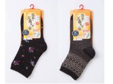 履き口ゆったりで締め付けにくい靴下「はくらく」に、保温効果を高めた新商品が登場!