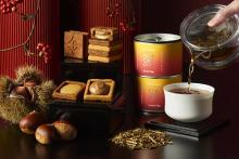 秋のお茶会にぴったりなペアリング。プレスバターサンド×煎茶堂東京のコラボ第2弾「栗×ほうじ茶」でほっこり