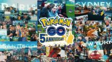 『ポケモン GO』5周年映像公開 DL数10億…全てのトレーナーへ感謝と敬意の2分間
