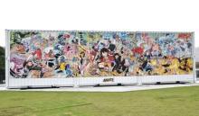 『ONE PIECE』100巻記念で展示会 尾田栄一郎氏描き下ろしの巨大作品&立ち読み図書館を展開