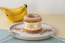 ケーキ仕立てのドーナツメルトはマスト。koe donuts kyotoの秋はバナナ×チーズケーキの絶妙マリアージュ