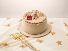 ジェラートピケのXmasケーキはブラウンベア×焦がしバターキャラメル味。セブンで予約受付がスタートです