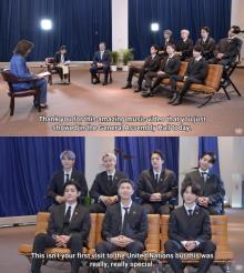 BTS、大統領特使としての国連総会演説に「責任感を持っている」