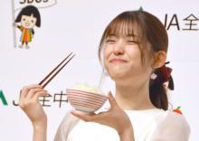 """松村沙友理、強すぎる""""ご飯愛""""アピール 1回で6合炊飯、白米のおかずに白米「お米は幼なじみ」"""