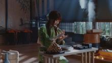 """""""三太郎シリーズ""""桃姫が鋭い質問 かぐや姫のきびだんごに詰まっているものとは"""