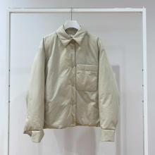 【ユニクロレポ】新作のあったか「シャツジャケット」が超優秀!襟デザインがかわいいアウターの新定番