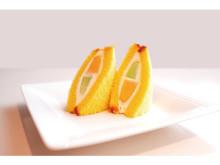 文明堂東銀座店にて、テイクアウトスイーツ「かすてらフルーツサンド」が数量限定発売