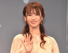 深田恭子、活動再開後初公の場 笑顔で復帰「すごくドキドキ」 適応障害で一時休養