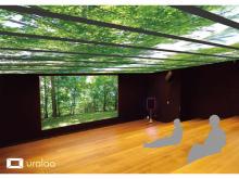 浅草にいながら十勝を旅した気分に!デジタル森林浴空間が入場無料で期間限定オープン