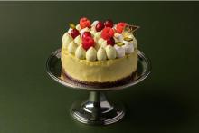 "「THE CHEESECAKE by Megan」のケーキがXmas仕様で登場。""桃スミレ味""のシュトレンも気になる"