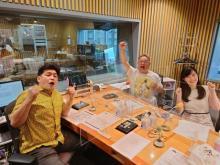 サンドウィッチマン『ラジオショー』盛大に幕開け 2回目のゲストは木梨憲武&ミッツ
