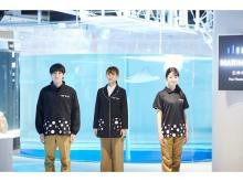 新水族館「átoa」の制服は、生きものの魅力をデザインに活かしたポルカドット柄!