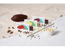 クラッシュカカオエッグを使用したチョコレート「インドネシアオリジンズ」が新発売!