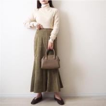 【しまむら】旬の「マーメイドスカート」を買うならこれ1択!史上最高の美シルエットと絶妙カラーが話題です