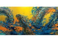 """東洋思想の""""気""""に着目。銀座 蔦屋書店で上野裕二郎による新作個展「Surge/渦動」開催"""