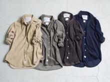 秋の装いに!Frank&Eileenが、なめらかな着心地の日本限定コーデュロイシャツを発売