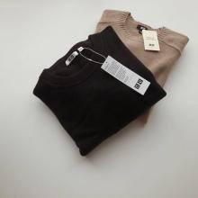 """【Uniqlo U】ありそうでなかった""""クロップド丈""""セーター。絶妙なショート丈アイテムは今が購入のチャンス!"""