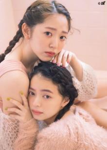 """鈴木愛理&上國料萌衣""""ハロプロ先輩&後輩エース""""初2ショット実現"""