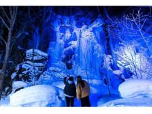 冬の奥入瀬渓流で雪と氷の芸術に出会う『奥入瀬渓流氷瀑ツアー』の予約受付中