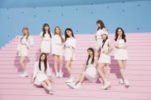 NiziU、純白衣装で新CM「ピュアな気分」 美容意識の高さNo.1はMAYA