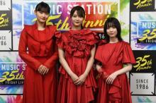 櫻坂46『Mステ』SP 真っ赤な衣装に裸足で新曲披露「パワーがみなぎっていた」