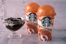 ちゅるんとコーヒージェリー×キャラメルブリュレが贅沢。スタバの新作チルドカップがファミマ限定で登場