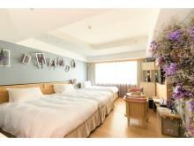 ドライフラワーに囲まれ華やかなホテルステイを!人気の「FLOWER ROOM」に新色が登場