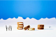 冬しか会えない生チョコサンド「スノーサンド」が11月からお目見え。新作スイーツ2種も仲間入りします