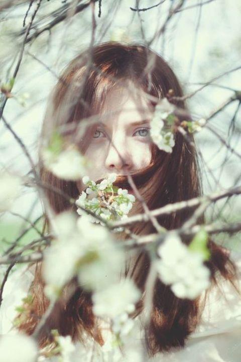 自然が大好き!草や花の自然をモチーフにした森ネイル☆