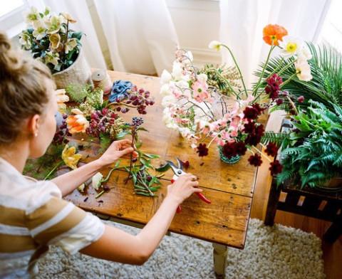 大人の花柄ネイルならコレです!可愛くなりすぎないのが良いボタニカルネイル♭