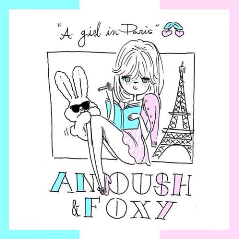 ワタシを「 ドキっ♡ 」とさせてくれる◎ FOXY(フォキシー)のイラストネイル。