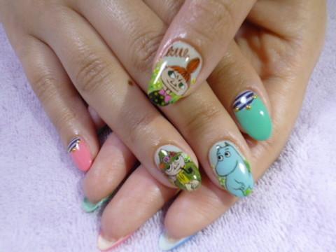 Pintor nail のブログ ムーミンネイル♪