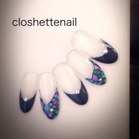 closhettenailさんのハロウィン,クリスマス,ソフトジェルネイル♪[1154158] | ネイルブック