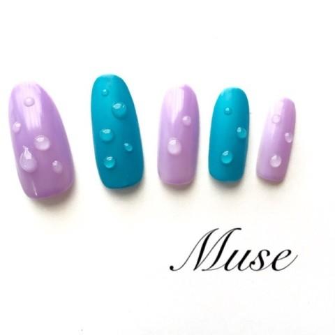Muse 〜ミューズさんのソフトジェル,ミディアム,パステルネイル♪[1117889] | ネイルブック