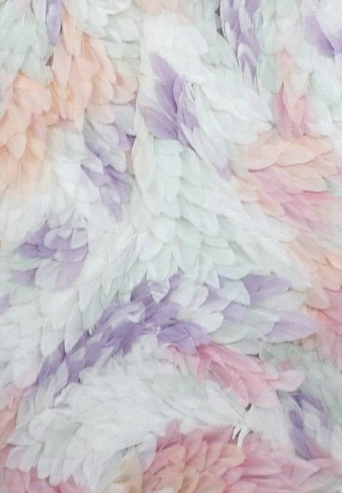Plumas coloridas ❤ by lupita | We Heart It