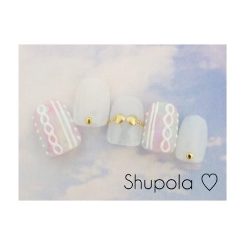 shupola2771さんのバレンタイン,クリスマス,ソフトジェルネイル♪[1198187] | ネイルブック