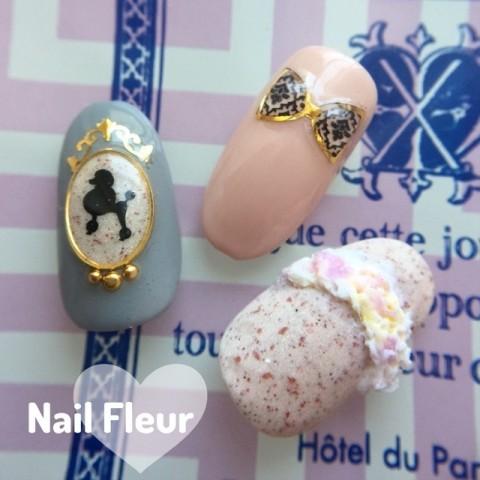 nail_fleur0420さんのソフトジェル,リボン,ピンクネイル♪[1201908] | ネイルブック