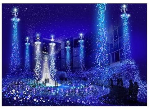 カレッタイルミネーション開催10周年!目玉は「シンデレラ」の世界観をイメージしたスペシャルイルミネーションショー!!