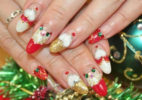 クリスマスネイル Nail eight8/ウェブリブログ