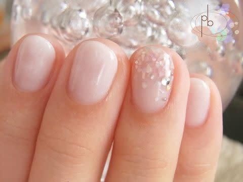 夏仕様なオフィスネイル♪   ―petit bijou―   nail   Pinterest