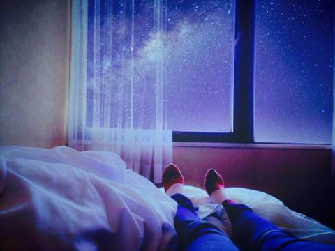 Outside the window… by あさ | We Heart It