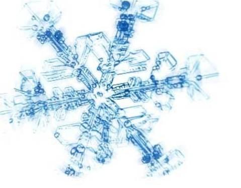 冬を先取り♪雪の結晶ネイルで指先を華やかに演出