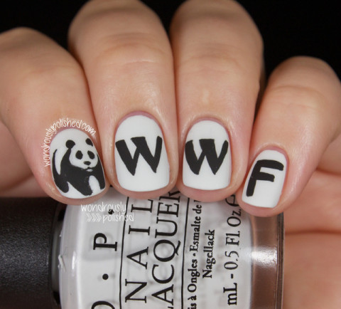 Wondrously Polished: The Digital Dozen does Brands - Day 3: WWF