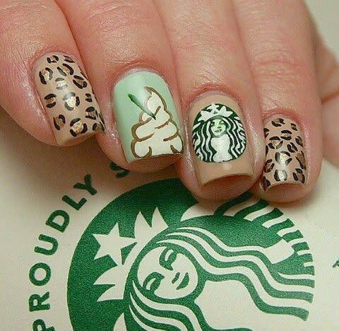 Starbucks nails | We Heart It